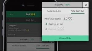 Bet365 Angebotscode - Cash Out Funktion